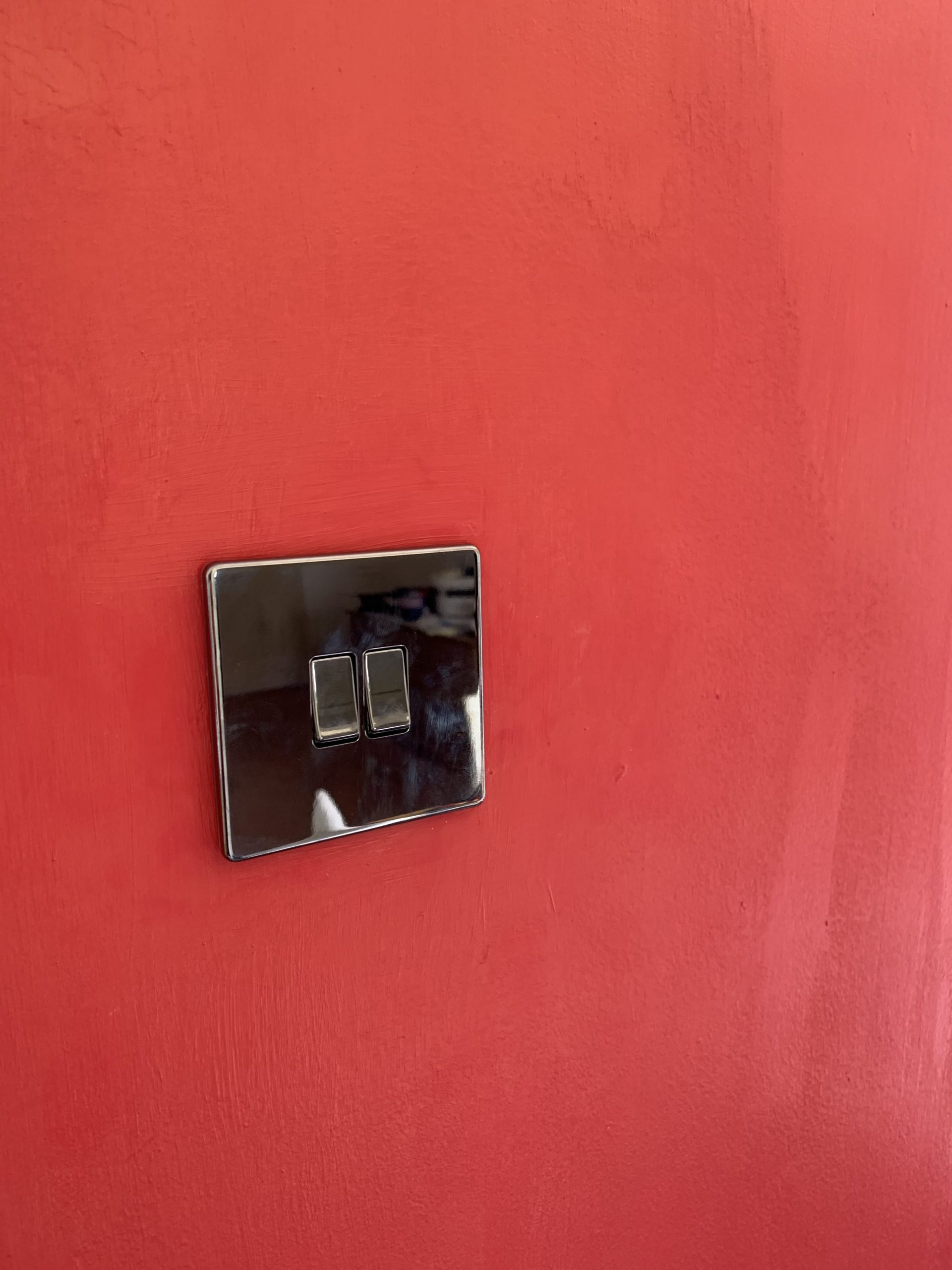 New light switches and socket fitting